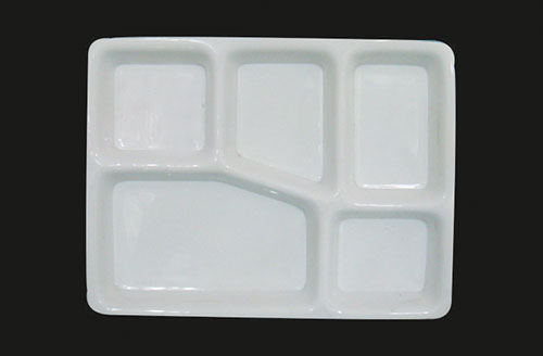 Bhojan Thali Spoon Shape [BT - 1822] & Compartment Plates - Dosa Plate Round Compartment Tray and Square ...