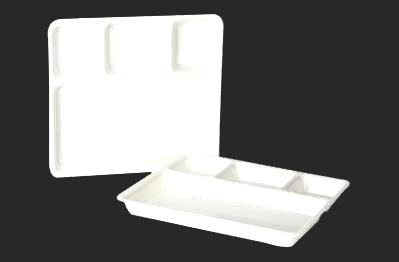BH Thal N0-4 & Partition Plate - Square Partition Plate and Plastic Compartment Tray