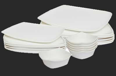 Dinner Sets - Dinner Serving Set, Square Shaped Dinner Set and ...