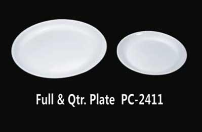 Full \u0026 Qtr. Plate [PC 2411] & Polycarbonate Dinner Series - Poly Carbonate Crockery and Poly ...
