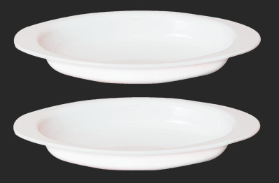 Oval Bowl Portion